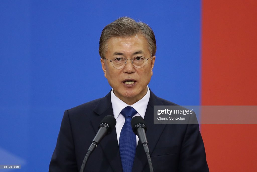 Newly Elected Moon Jae-in Starts His Presidency