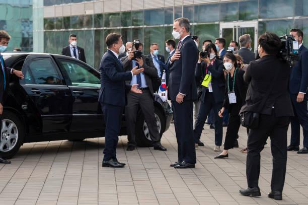 ESP: King Felipe Of Spain Attends 'Cercle D'Economia' Annual Dinner In Barcelona