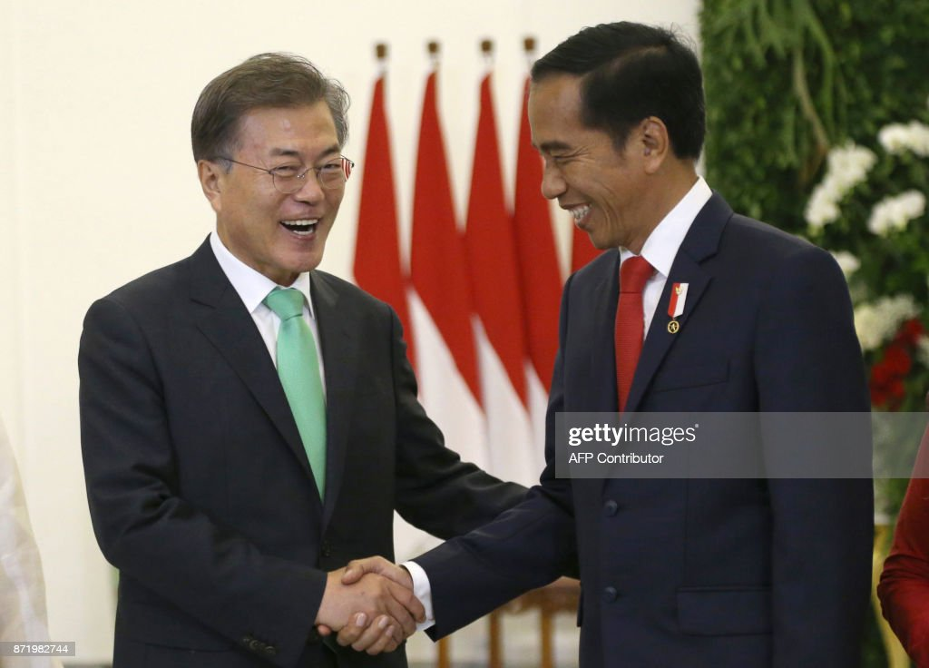 INDONESIA-SKOREA-DIPLOMACY : News Photo
