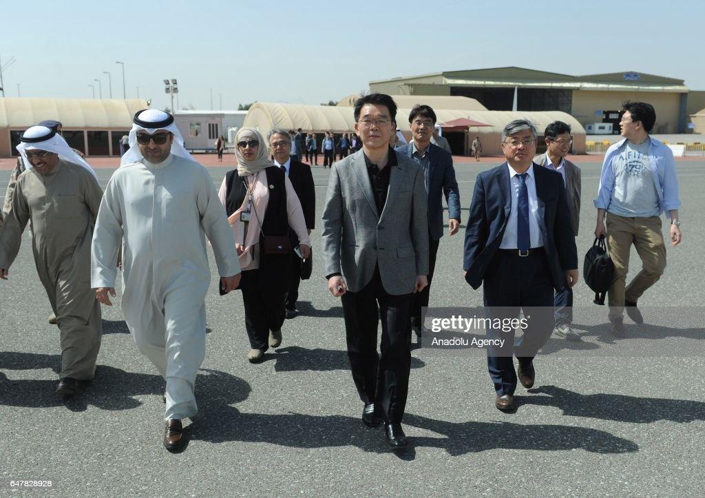 Sheikh Jaber Al-Ahmad Al-Sabah causeway in Kuwait : News Photo