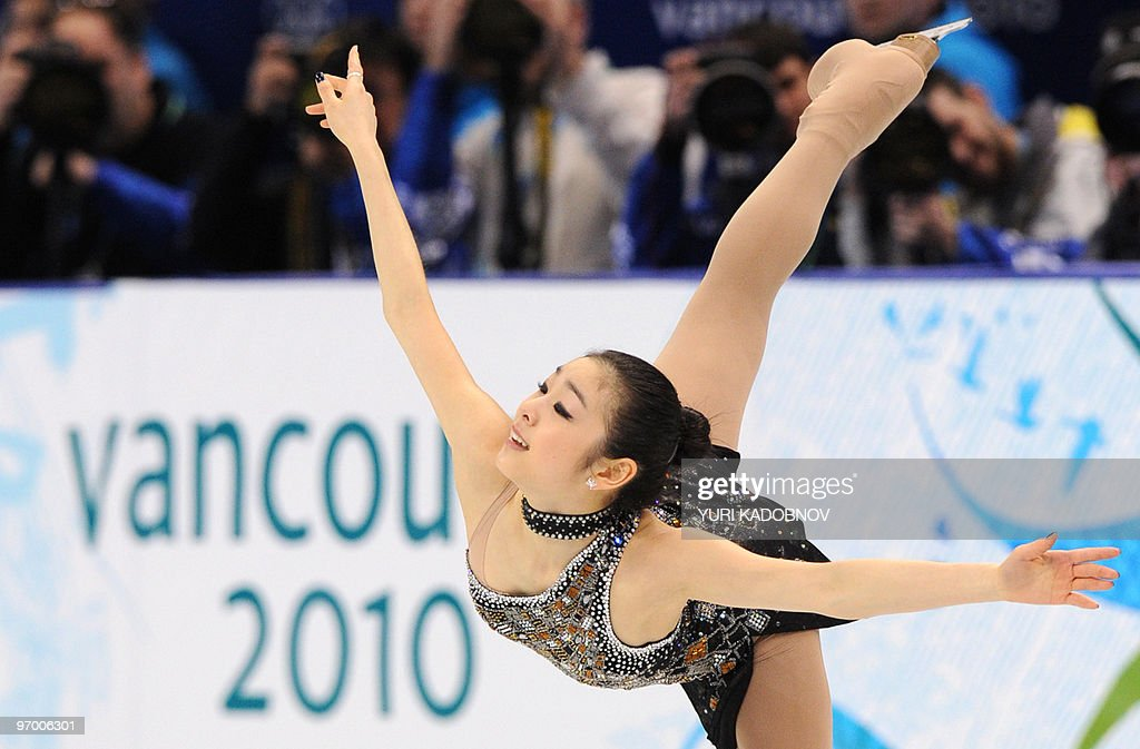 South Korea's Yu-Na Kim performs in the Ladies' Figure Skating Short Program in Vancouver, during the 2010 Winter Olympics on February 23, 2010.