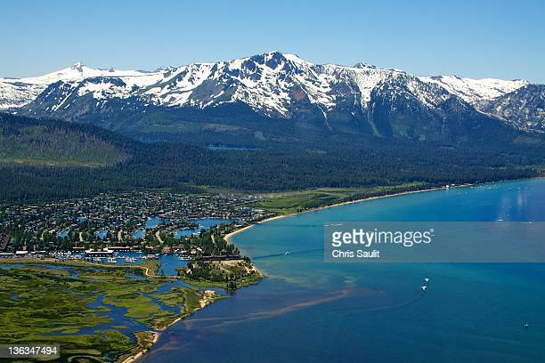 south lake tahoe - lake tahoe stock pictures, royalty-free photos & images