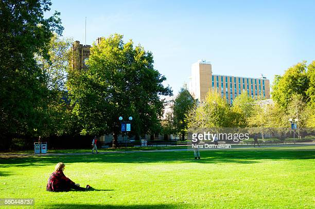 South Lawn University of Melbourne 12th April 2015