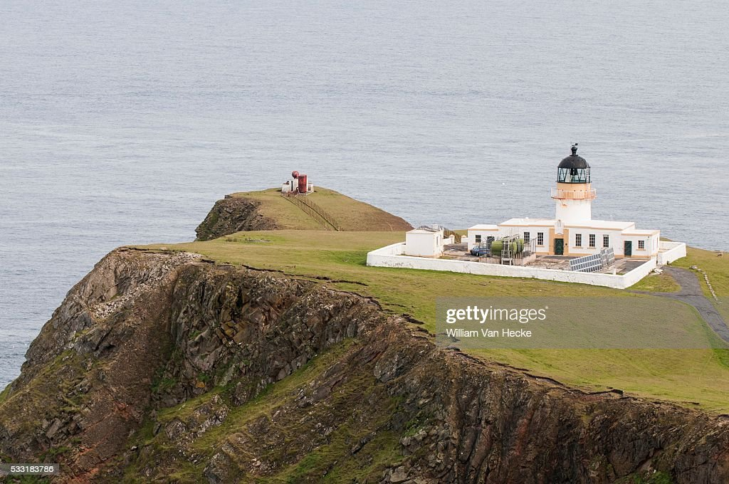 South lighthouse on Fair Isle PICTURE