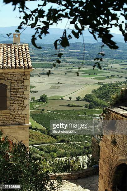 Paysage du sud de la France, la belle Provence