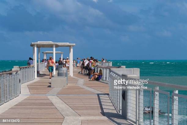 'South Pointe Park Pier' is a tourist attraction in Miami beach