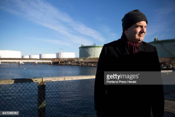 South Portland City Councilor Claude Morgan at the Portland Street Pier The Pier is cityowned and is one of the waterfront properties the city of...