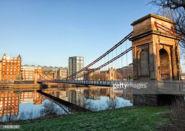 south portland street bridge, glasgow - old glasgow stock pictures, royalty-free photos & images