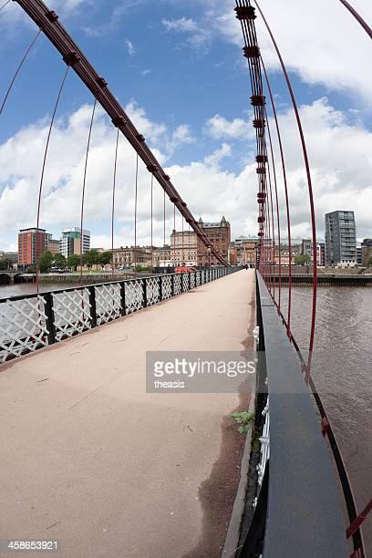 south portland street bridge, glasgow - theasis stockfoto's en -beelden