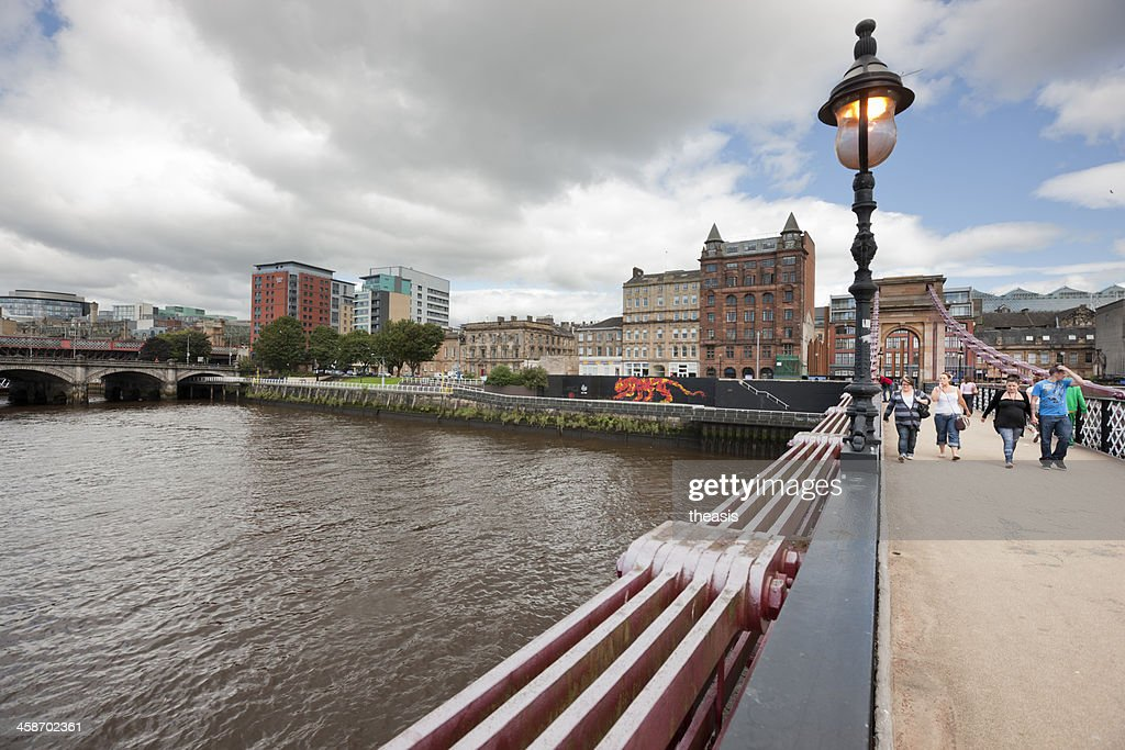 South Portland Street Bridge, Glasgow : Stock Photo