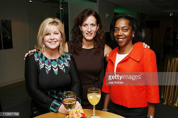 South Regional Director of the Recording Academy Susan Stewart Executive Director of the New York Chapter Elizabeth Healy and Dawn FrisbyByers of the...