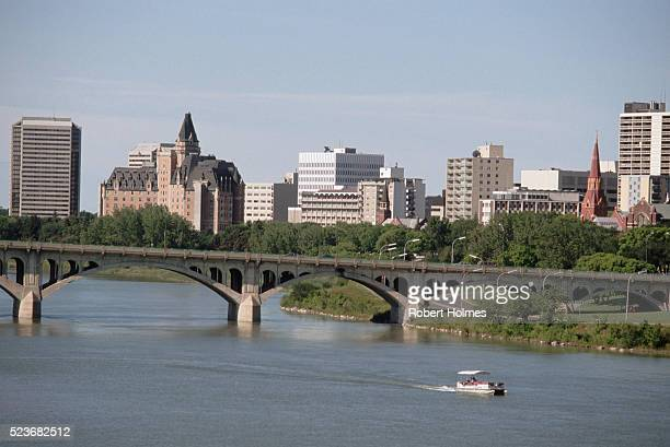 South Saskatchewan River in Saskatoon