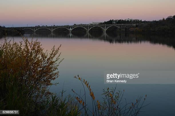 south saskatchewan river saskatoon - south saskatchewan river stock photos and pictures