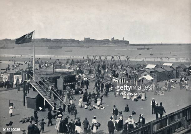 'South Shields All The Fun Of The Fair' 1895 From Round the Coast [George Newnes Limited London 1895]Artist Unknown