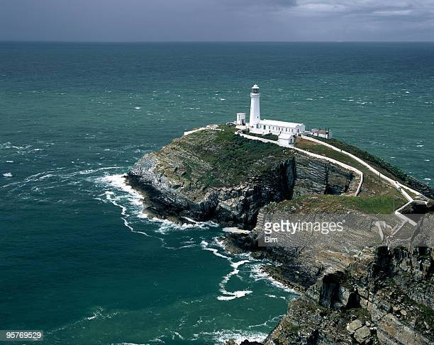 South Stack lighthouse in Wales, United Kingdom