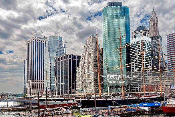 south street seaport - south street seaport stock pictures, royalty-free photos & images