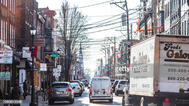 South Street traffic, Philadelphia