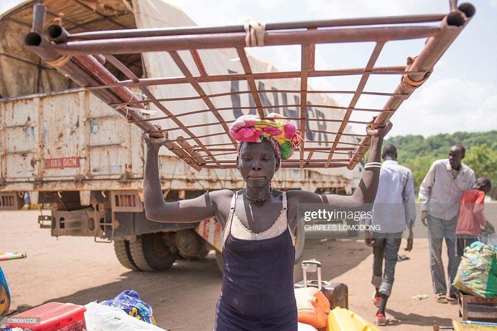 SSUDAN-UNREST-REFUGEES : News Photo