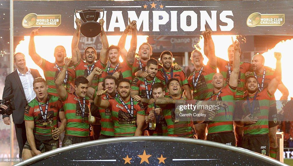 St Helens v South Sydney Rabbitohs - World Club Series : ニュース写真