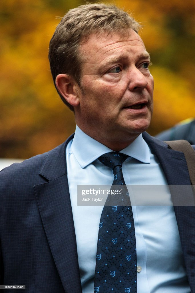 Craig Mackinlay Appears In Court On Charges Of Breaking Election Spending Rules : News Photo