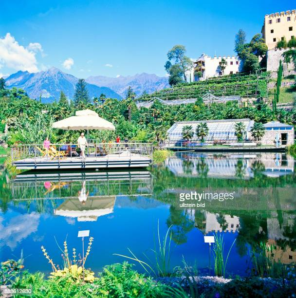 South Tyrol Alto Adige landscape Burgraviato Merano i giardini di castel Trauttmansdorff botanic garden the garden of Trauttmansdorff castel