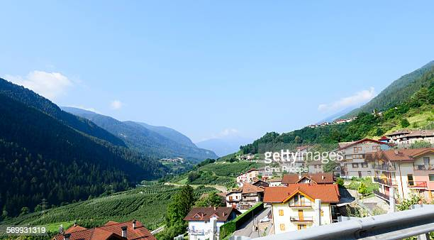 South Tyrol, Italy, view from the road