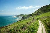 South West Coastal Pathway, Mortehoe, Devon