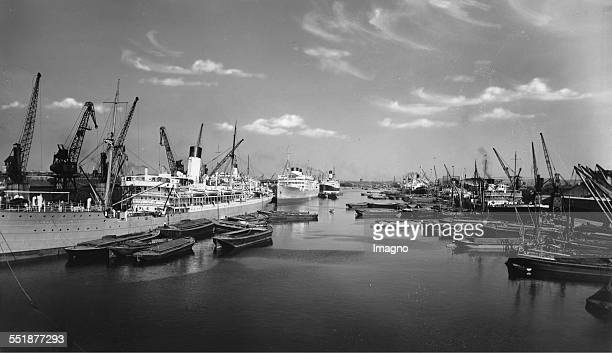 South West India Docks of London 16th July 1937 Photograph