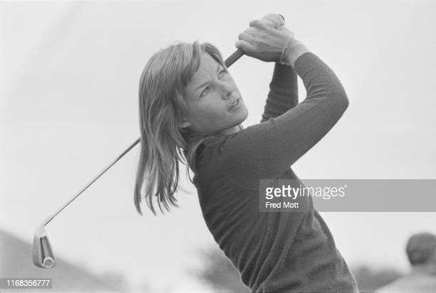 SouthAfrican professional golfer Sally Little in action UK 3rd August 1976