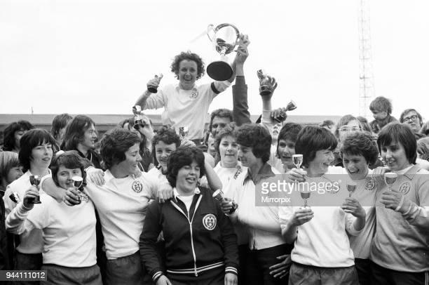 Southampton 2-1 Queens Park Rangers. A.E.T, Ladies FA Cup Final at Bedford Town Football Club, 25th April 1976.