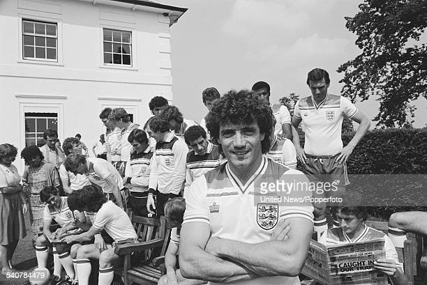 Southampton and England footballer Kevin Keegan pictured at the press conference to announce the England squad on 8th June 1982 for the upcoming...