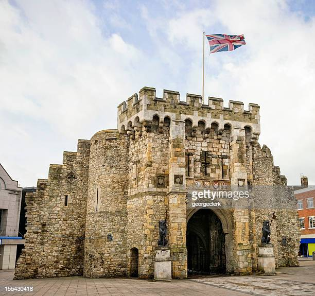 southampton bargate - southampton stock photos and pictures