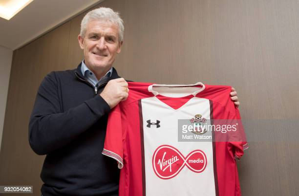 Southampton FC appoint Mark Hughes as their new first team manager on March 14 2018 in Southampton England