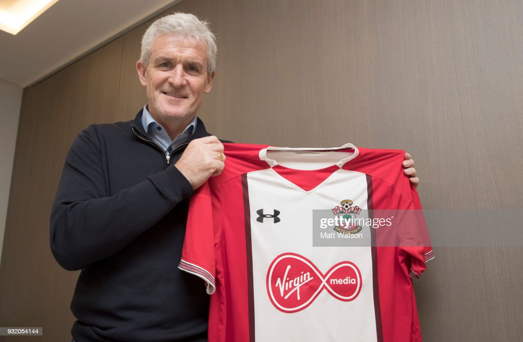 Southampton FC appoint Mark Hughes as their new first team manager, on March 14, 2018 in Southampton, England.