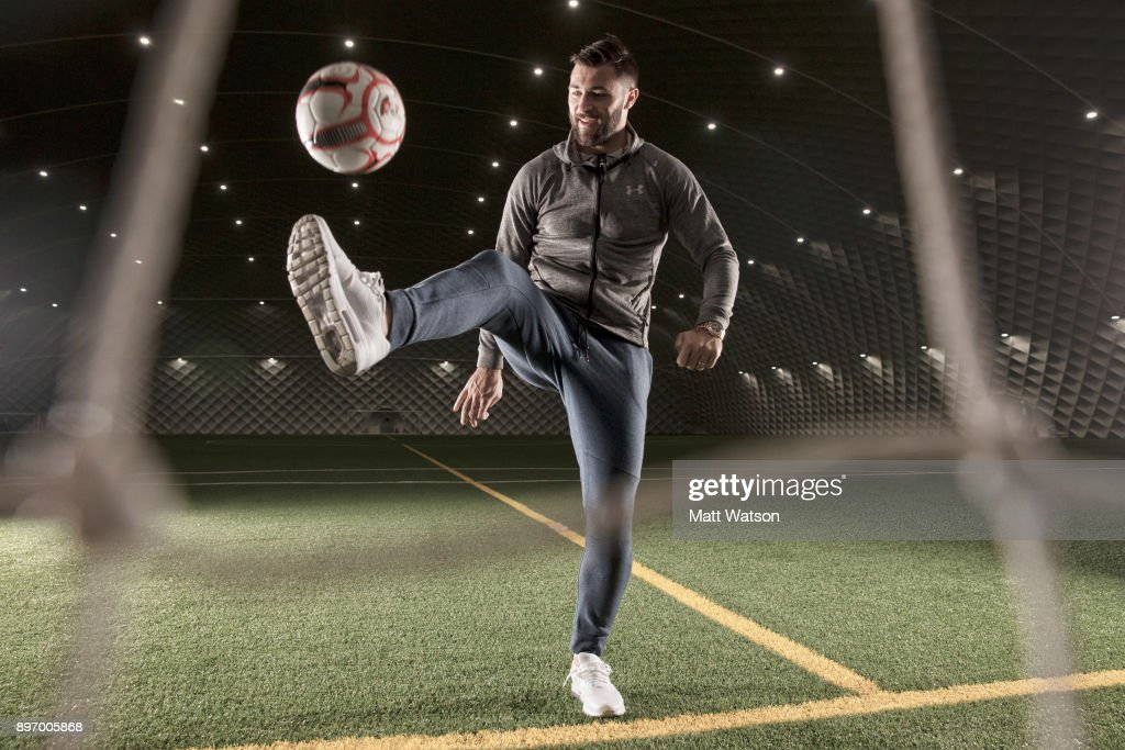 Southampton FCs Charlie Austin pictured at the Clubs Staplewood Campus, for the aints match day magazine, on December 20, 2017 in Southampton, England.