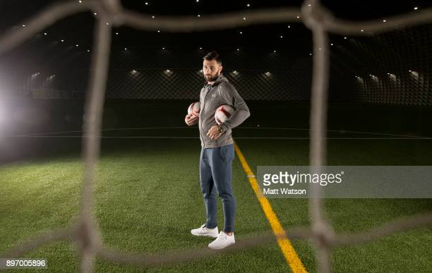 Southampton FCs Charlie Austin pictured at the Clubs Staplewood Campus for the aints match day magazine on December 20 2017 in Southampton England