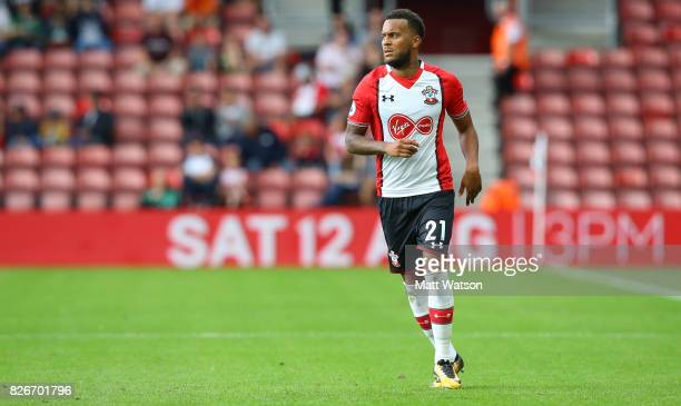 Southampton FC's Ryan Bertrand during the preseason friendly between Southampton FC and Sevilla at St Mary's Stadium on August 5 2017 in Southampton...
