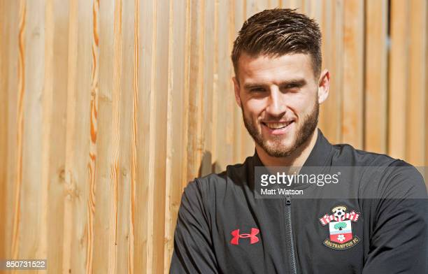 Southampton FC's Wesley Hoedt pictured at the club's Staplewood Campus for the club's Matchday magazine on September 19 2017 in Southampton England