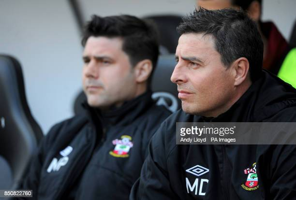 Southampton first team coach Miguel D'Agostino