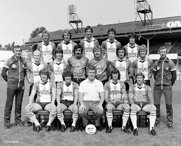 Southampton Football Club, 1st Team Squad, at the Dell in Southampton, August 1981. Back row : Graham Baker, Nick Holmes, Chris Nicholl, Trevor...