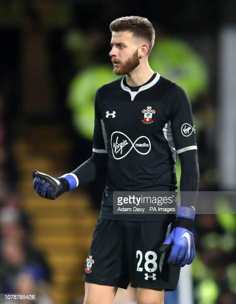 Southampton goalkeeper Angus Gunn