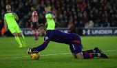 southampton england southampton goalkeeper fraser forster