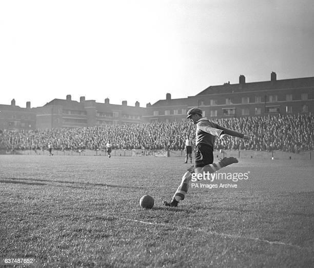 Southampton goalkeeper John Christie takes a goal kick
