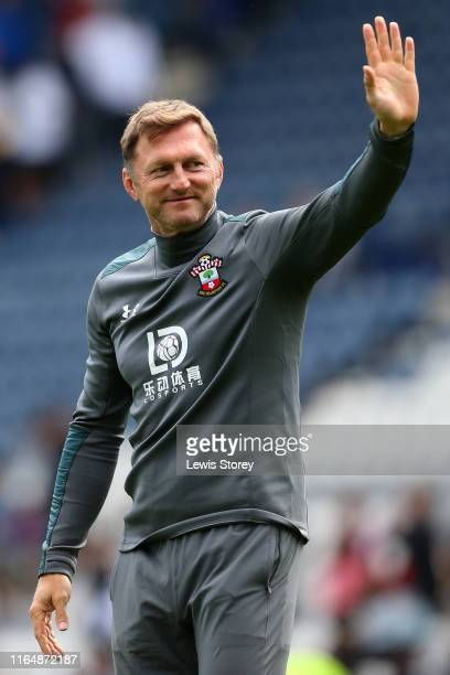 Southampton manager Ralph Hasenhuttl during the Pre-Season Friendly match between Preston North End and Southampton at Deepdale on July 20, 2019 in...