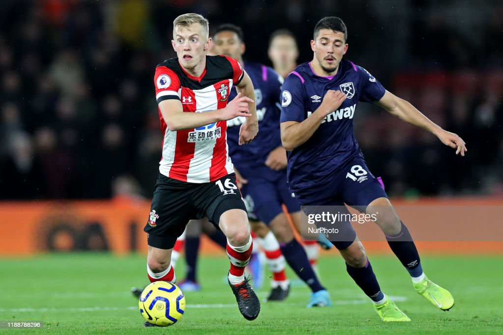 Southampton FC v West Ham United - Premier League : News Photo