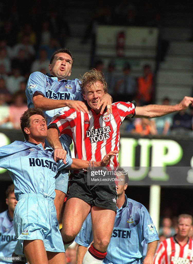 Southampton-Tottenham 1992 : News Photo