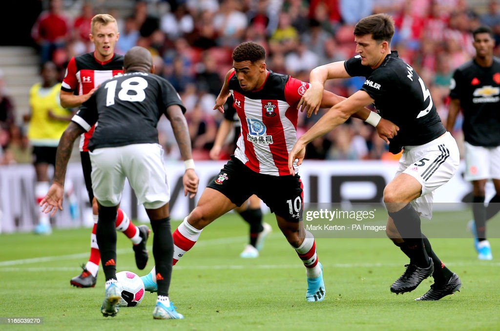 Southampton v Manchester United - Premier League - St Mary's : News Photo