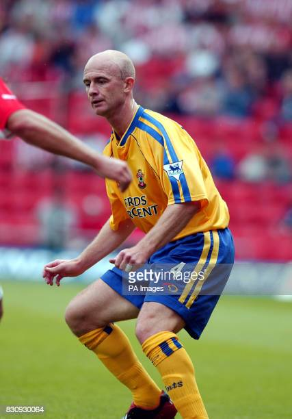 Southampton's Chris Marsden in action during the preseason friendly game between Southampton and FC Utrecht at St Mary's stadium Southampton THIS...