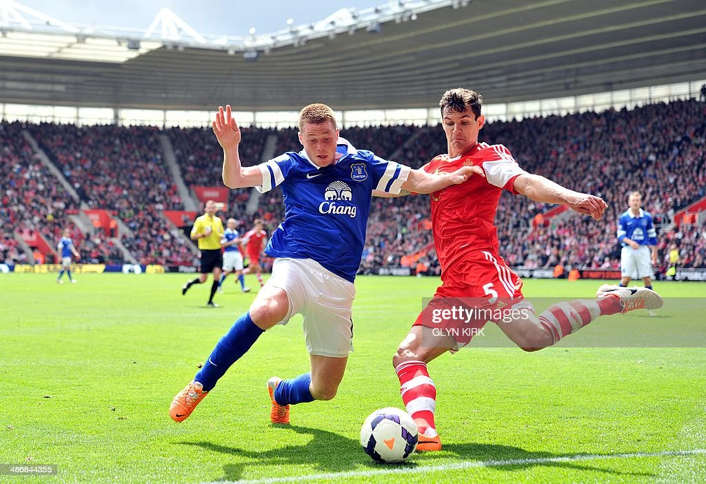 FBL-ENG-PR-SOUTHAMPTON-EVERTON : News Photo