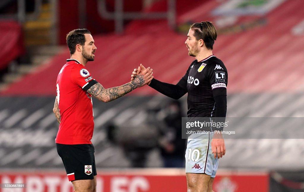 Southampton v Aston Villa - Premier League - St Mary's Stadium : News Photo